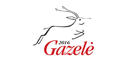 "2017 / 04 <br> ""Gazelė 2016"" awards"
