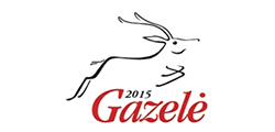 "2016 / 04 <br> ""Gazelė 2015"" awards"