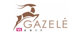 "2017 / 12 <br> ""Gazelė 2017"" awards"